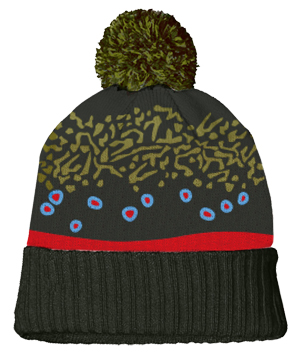 Trout Skin Knit Hats
