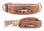 Leather Dog Leashes and Collars