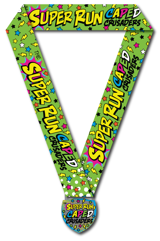 Caped Crusaders SUPER Finishers Medal