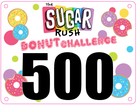 Sugar Rush Donut Challenge