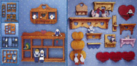 Shadow Box & Heart Shelf Pattern Collection