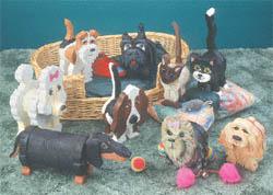 Dogs & Cats Layered Animal Pattern Set