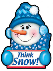 Think Snow Magnet