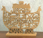 Noah's Animal Ark Scroll Saw Pattern