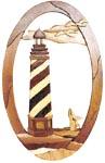 Spiral Lighthouse Scroll Saw Pattern