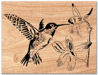hummingbird scroll saw pattern