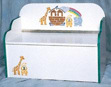 Noah's Ark Toybox/Bench Plans