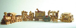Circus Train Woodcraft Plans