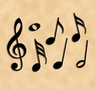 Giant Music Notes Woodcrafting Pattern