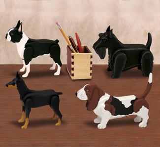 Desk Dog Pattern Set 3 Wood Plan
