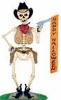 Cowboy Skeleton Woodcraft Pattern