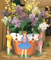 Flower Pot Fairies Woodworking Plan