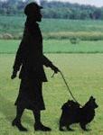 Lady & Dog Shadow Woodcrafting Pattern