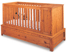 Crib & Bed Wood Project Plans