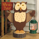 Welcome Owl Woodcraft Pattern