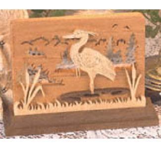 Heron Napkin Holder Heron Letter Holder