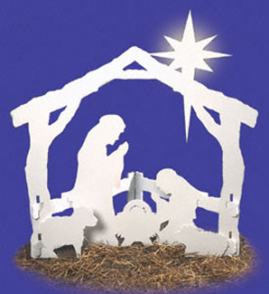 O'Holy Night Yard Décor Project Pattern