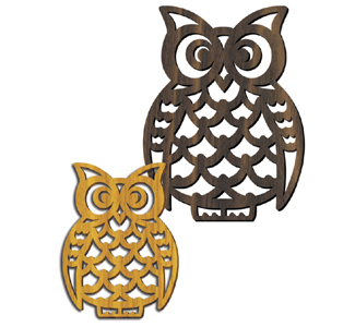 Wooden Owl Trivets Project Patterns