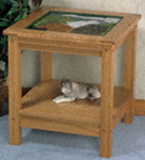 Spirited Wolf End Table Project Pattern