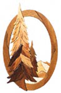 God's Country Oval Intarsia Project Pattern