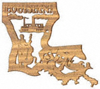 Louisiana Plaque Project Pattern