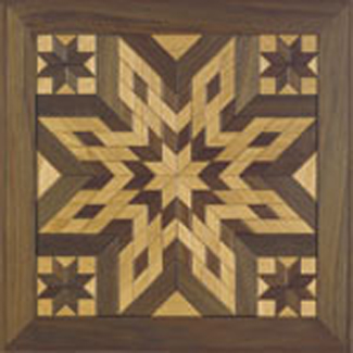 Wooden Quilt Square #1 Woodcraft Pattern