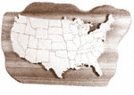 United States Map Project Pattern