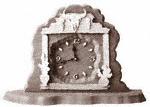 Desktop Desert Skull Clock Plaque Project Pattern