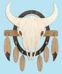 Southwest Buffalo Skull Project Pattern