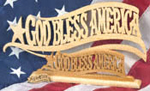 God Bless America Trio Project Patterns