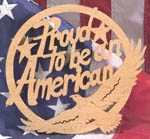 Proud To Be An American Project Pattern