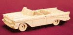 57 Chevy 3D Wood Model Project Pattern