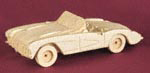 57 Corvette 3D Wood Model Project Pattern