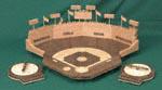 3D Baseball Bonanza Game Project Pattern