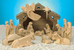 3D Nativity w/ Stable Project Pattern