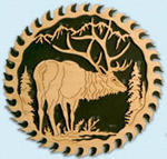 Circular Saw - Majestic Elk Project Pattern