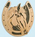 Horseshoe - Bay Horse Project Pattern
