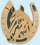 Horseshoe - Grey Horse Project Pattern