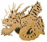 Chinese Dragon  #1 Project Pattern