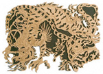 Chinese Dragons  #2 Project Pattern
