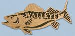 Wooden Fish - Walleye Project Pattern