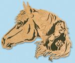Nature's Majesty - Arabian Horse Project Pattern