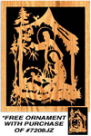 Nativity Trio Plaque w/ FREE Ornament Pattern!