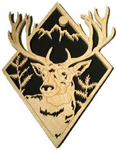 Mule Deer Diamond Project Pattern