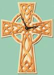 Celtic Cross Wall Clock Project Pattern