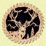 High Ridge Deer Circular Saw Project Pattern
