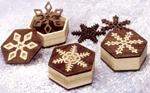 Snowflake Mini Boxes & Ornaments Project Patterns