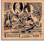 Gershwin Scrolled Art Project Pattern