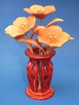 Mini Petunias & Vase Compound Cut Project Pattern