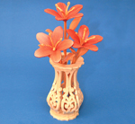Compound Cut Mini Azaleas & Vase Project Patterns